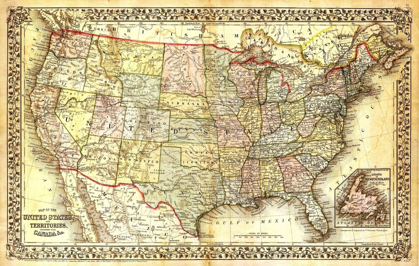 Usa Map Resized